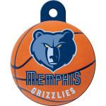 Memphis Grizzlies Large Circle Quick-Tag