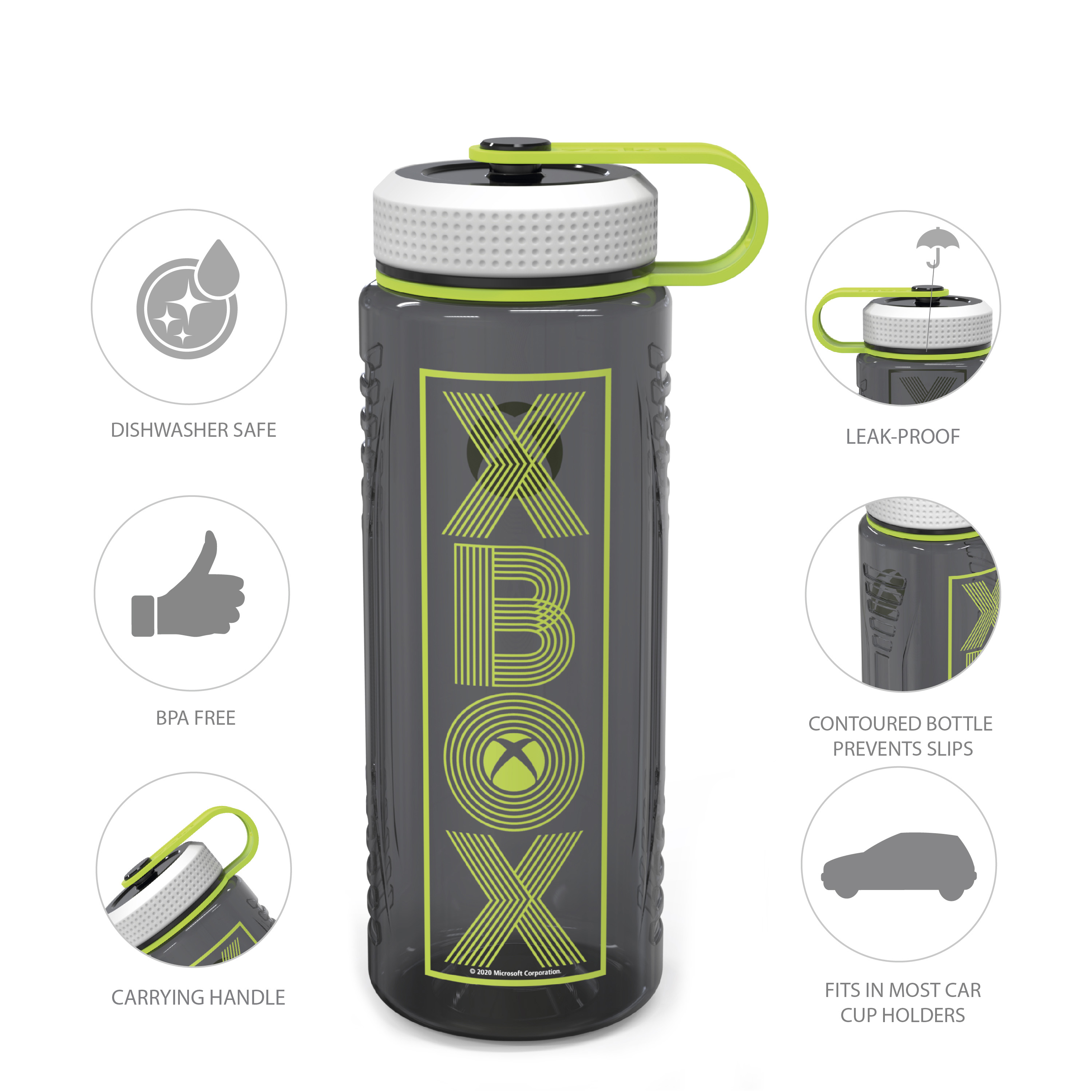 Microsoft 36 ounce Water Bottles, Xbox slideshow image 3
