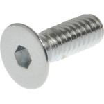 Chrome Flat-Head Socket Cap Screws