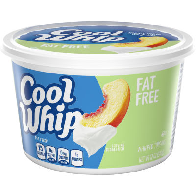 Cool Whip Free Whipped Topping 12 oz Tub