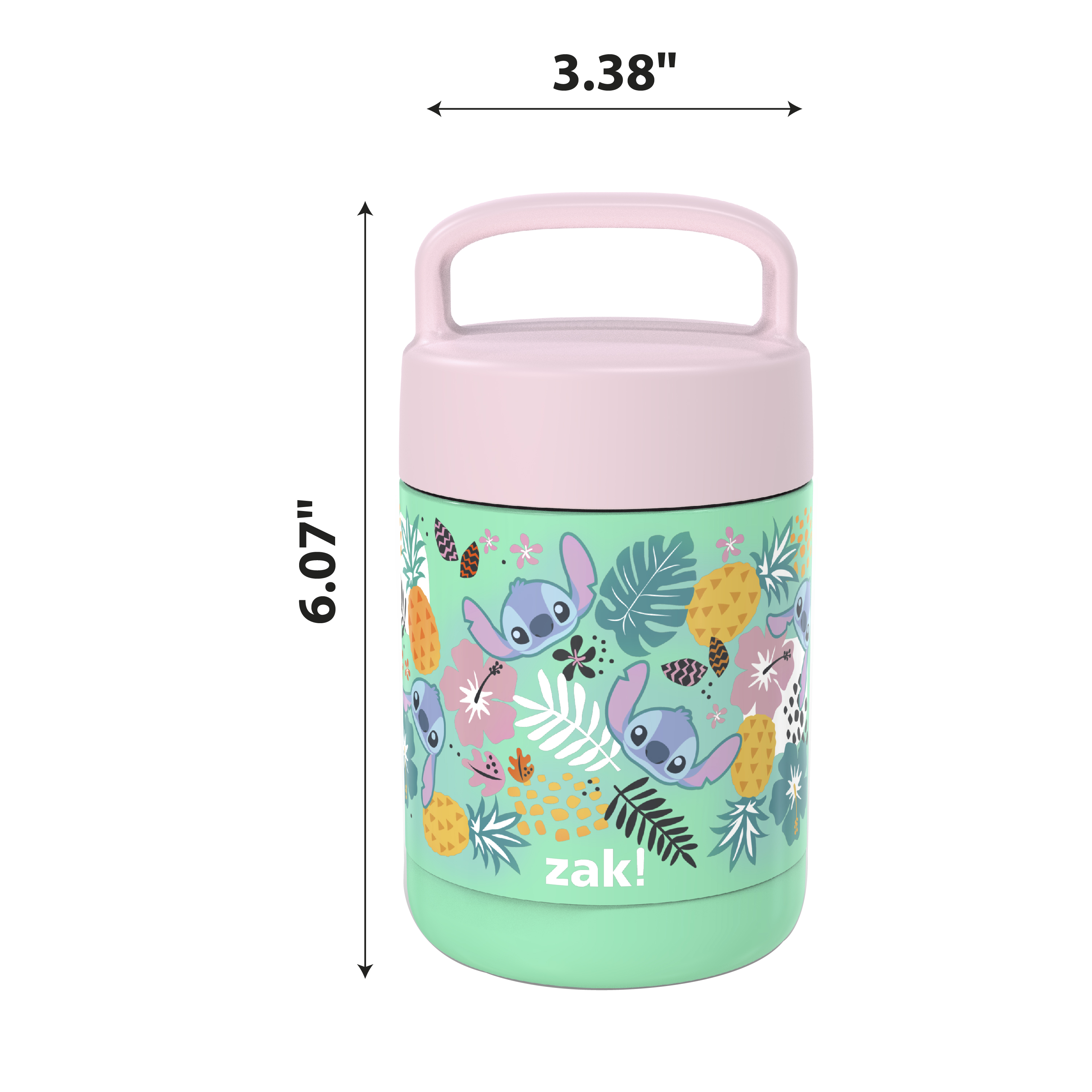Disney Reusable Vacuum Insulated Stainless Steel Food Container, Lilo & Stitch slideshow image 7