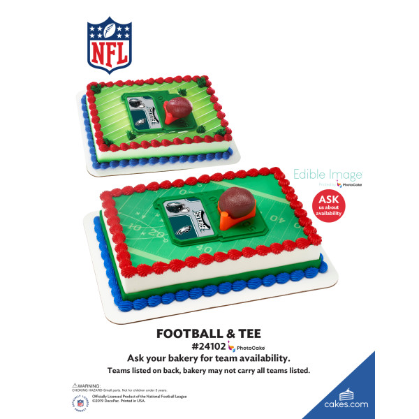 NFL Football & Tee DecoSet® The Magic of Cakes® Page