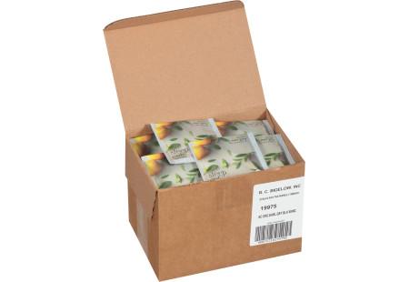 steep cafe by Bigelow organic full leaf earl grey black tea pyramid bag in overwrap