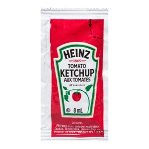 HEINZ Ketchup Single Serve 8ml 500 image