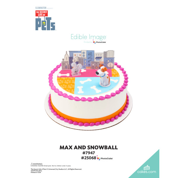 The Secret Life of Pets™ Max and Snowball DecoSet® The Magic of Cakes® Page