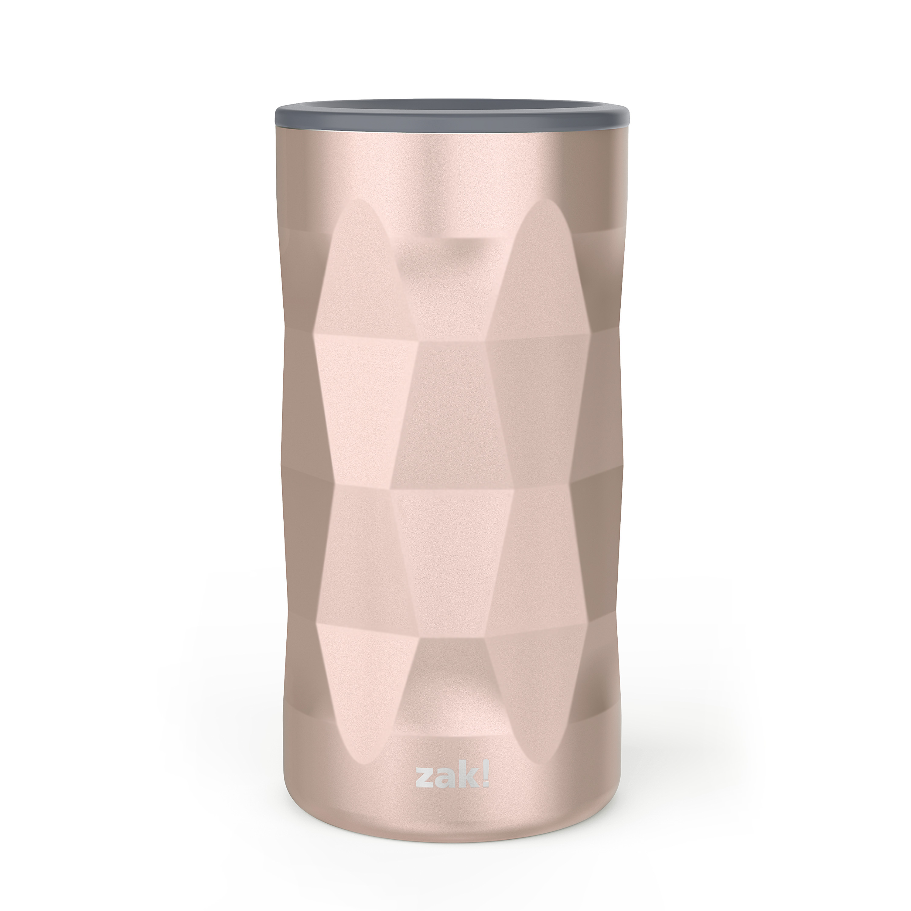 Fractal 12 ounce Vacuum Insulated Stainless Steel Tumbler, Rose Gold slideshow image 1