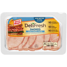 Oscar Mayer Deli Fresh Smoked Uncured Ham, 9 oz Package