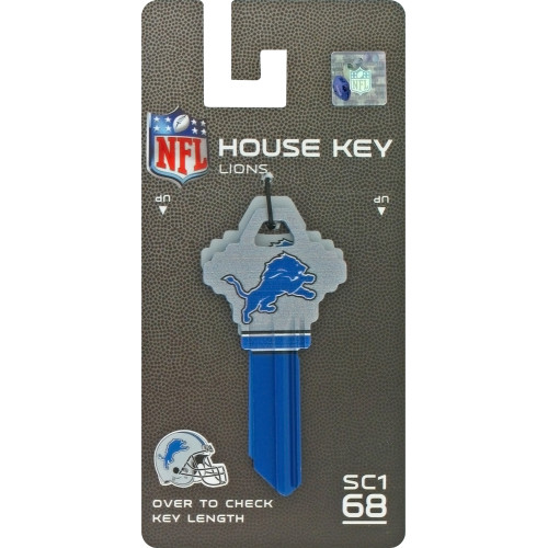 NFL Detroit Lions Key Blank