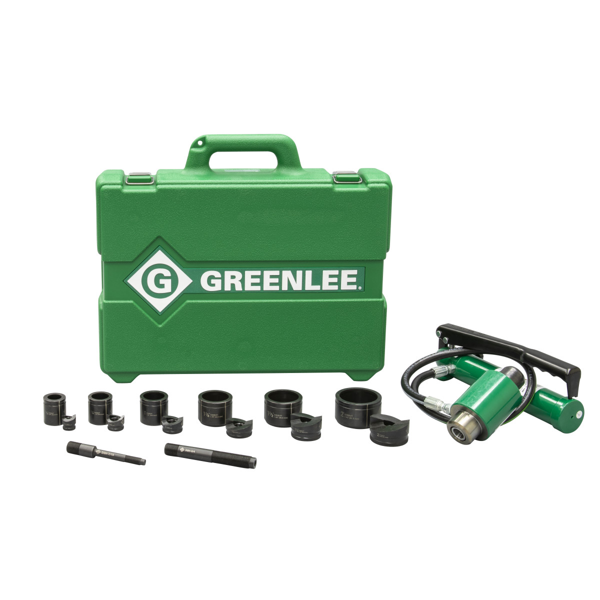 "Greenlee 7306SB Punch Set-1/2""X2"" Hyd Driver"