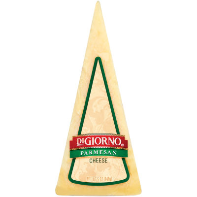DiGiorno Parmesan Cheese Wedge 5 oz Shrink Wrapped