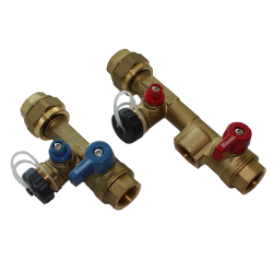 Plumbing Installation Valve Kit Threaded
