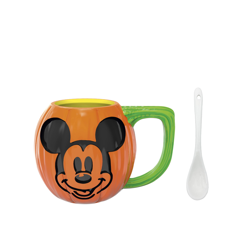 Disney 15 ounce Coffee Mug and Spoon, Mickey Mouse slideshow image 1