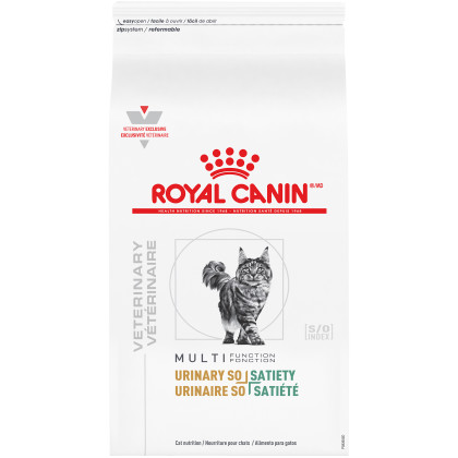 Royal Canin Veterinary Diet Feline Urinary SO + Satiety Dry Cat Food