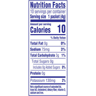 Crystal Light On-the-Go Sugar-Free Lemonade Drink Mix, 10 - 0.14 oz Packets