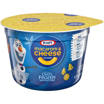 Kraft SpongeBob Shapes Macaroni & Cheese Dinner 1.9 oz. Microcup