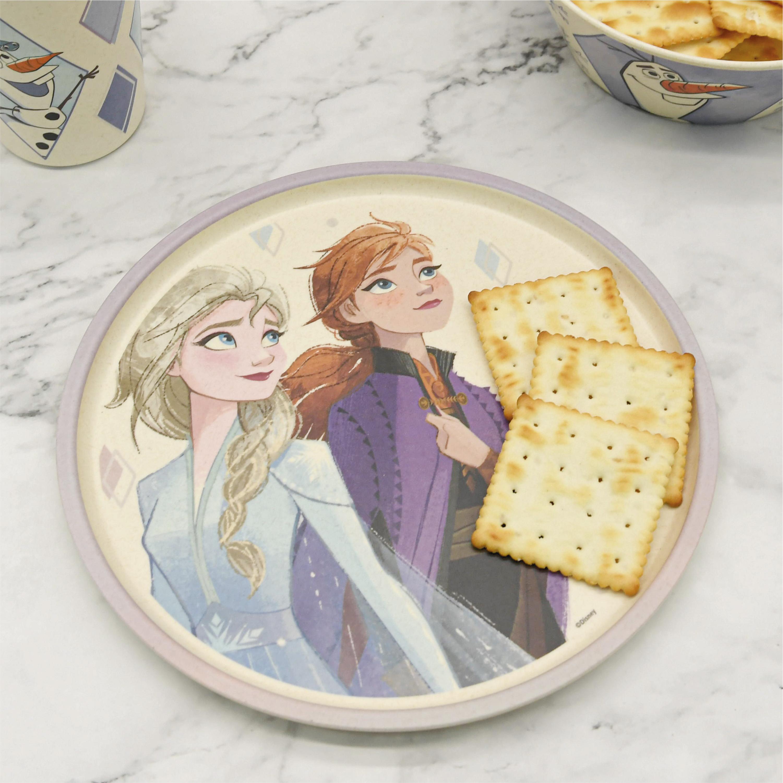 Disney Frozen 2 Movie Kids 3-piece Dinnerware Set, Anna and Elsa, 3-piece set slideshow image 7