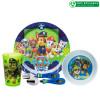 Paw Patrol Dinnerware Set, Chase, Marshall and Friends, 5-piece set slideshow image 1