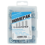 HOMEPAK Round Slotted Machine Screws Assortment