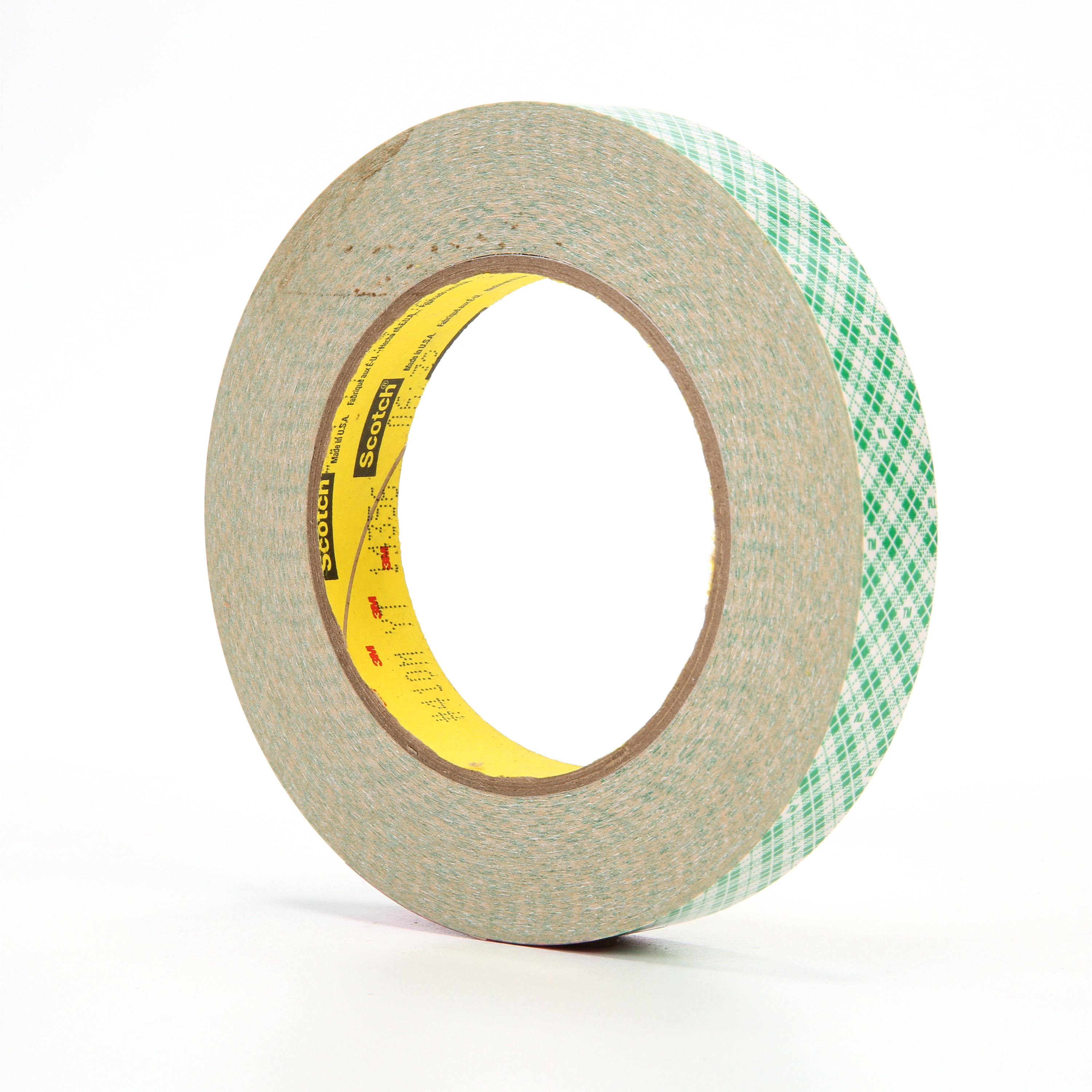 3M™ Double Coated Paper Tape 410M, Natural, 3/4 in x 36 yd, 5 mil, 48 rolls per case