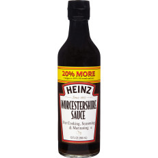 Heinz Worcestershire Sauce, 12 fl oz Bottle image