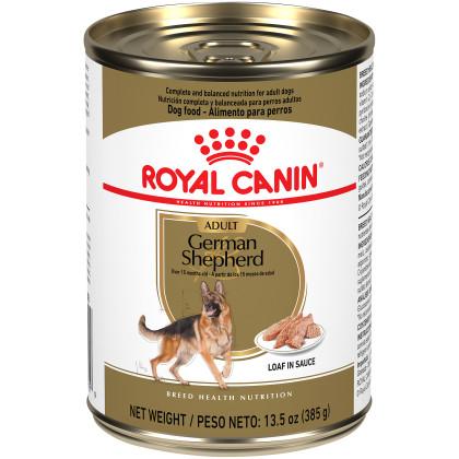 German Shepherd Adult Loaf in Sauce Canned Dog Food