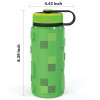 Minecraft 24 ounce Stainless Steel Insulated Water Bottle, Video Games slideshow image 5