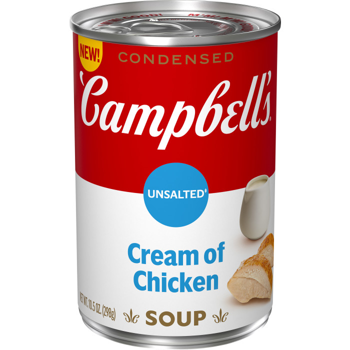 Unsalted Cream of Chicken Soup