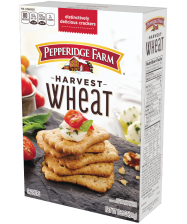 (10.25 ounces) Pepperidge Farm® Harvest Wheat Distinctive Crackersor your favorite Pepperidge Farm crackers