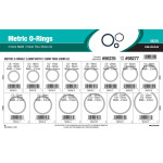 Nitrile Metric O-Ring Assortment (2.5mm Width)