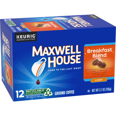 Maxwell House Breakfast Blend K-Cup Pods 3.7 oz Box
