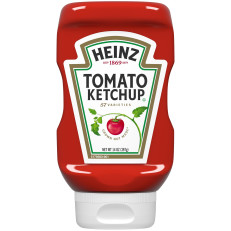 Heinz Inverted Bottle Tomato Ketchup, 14 oz Bottle image
