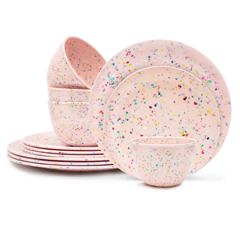 Confetti Dinnerware Set, Multicolored, 12-piece set slideshow image 2