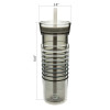 HydraTrak 20 ounce Insulated Tumbler, Ghost slideshow image 6