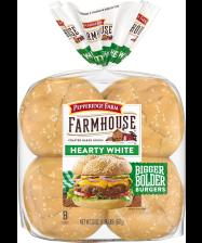 Pepperidge Farm® Farmhouse™ Hearty White Buns, toasted