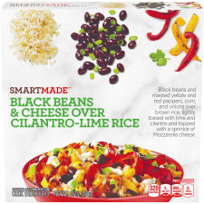 Smart Ones Smart Made Black Beans & Cheese Over Cilantro-Lime Rice Bowl 10 oz Box