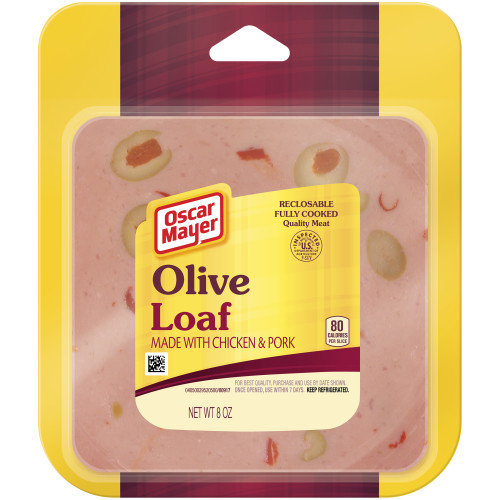 Oscar Mayer Olive Loaf 8 oz Pack