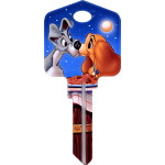 Disney Lady & The Tramp Key Blank