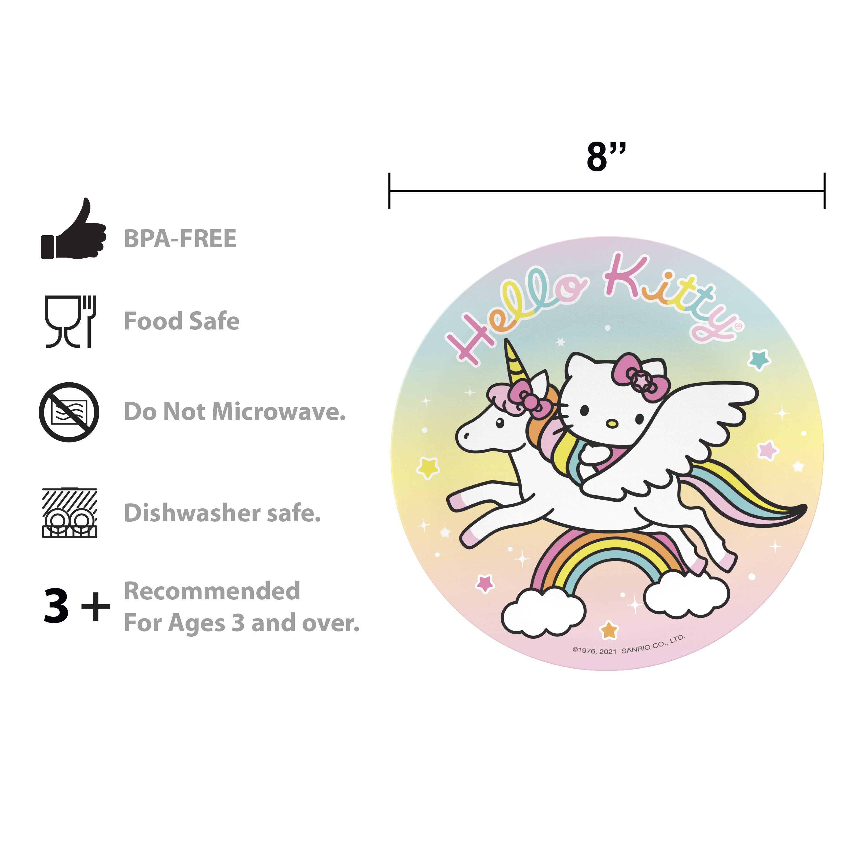 Sanrio Dinnerware Set, Hello Kitty, 5-piece set slideshow image 7