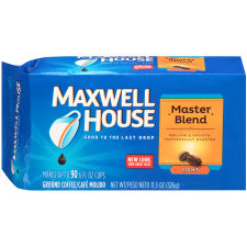 Maxwell House Master Blend Ground Coffee, 11.5 oz Brick