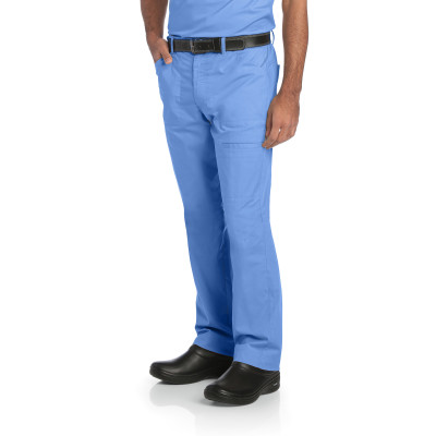 Landau Ripstop Stretch Cargo Scrub Pants for Men: 6 Pockets, Classic Relaxed Fit, 50/50 Waist 2026-