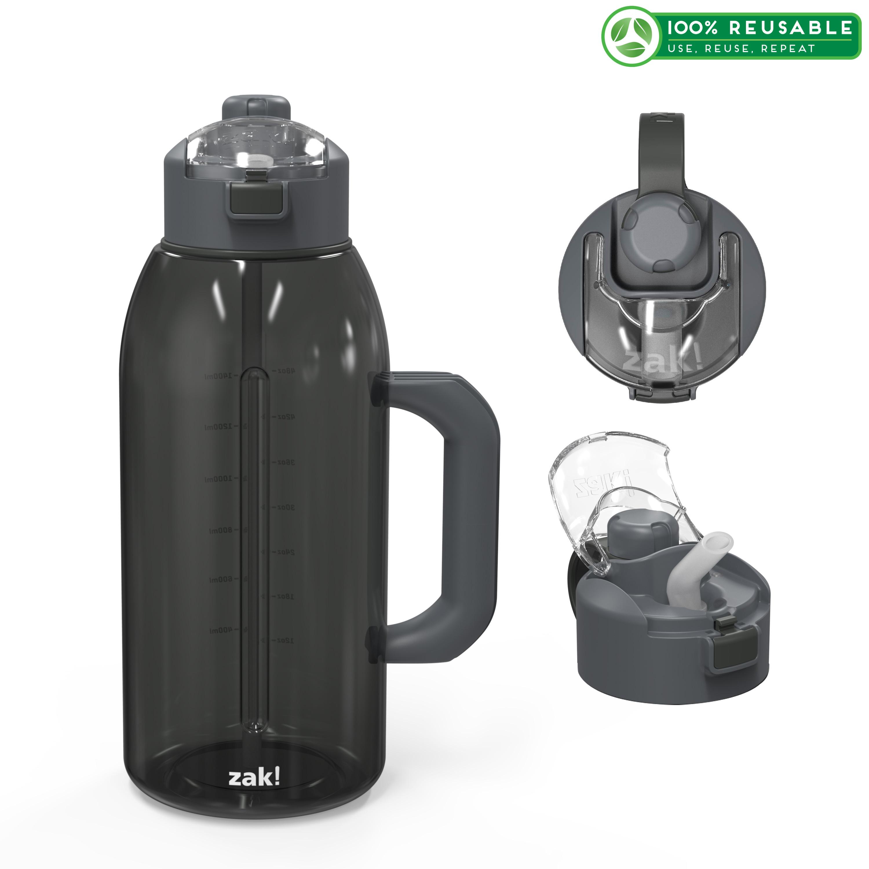 Genesis 64 ounce Water Bottle, Charcoal slideshow image 1