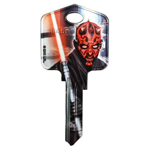Star Wars Darth Maul Key Blank Kwikset 66/97 KW1/10