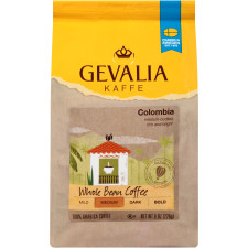 Gevalia Colombian Whole Beans Coffee 8 oz Bag