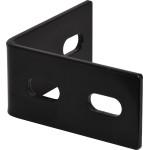 Hardware Essentials Black Heavy Duty Corner Braces