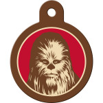 Star Wars Chewbacca Large Circle Quick-Tag