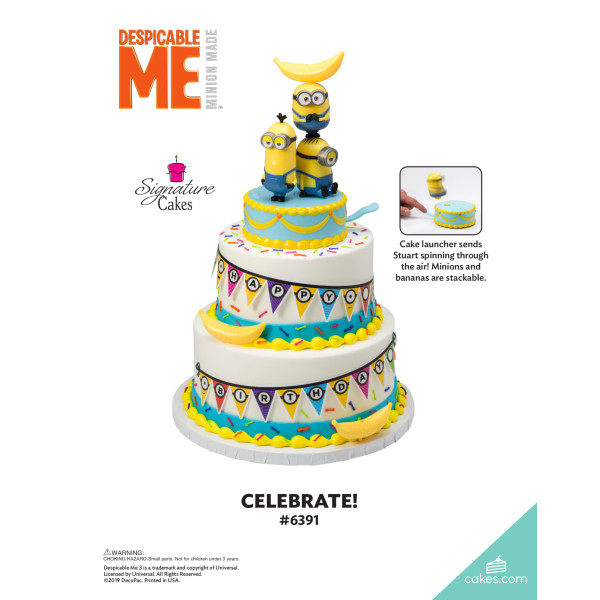 Minions™ Celebrate! Signature DecoSet® The Magic of Cakes® Page