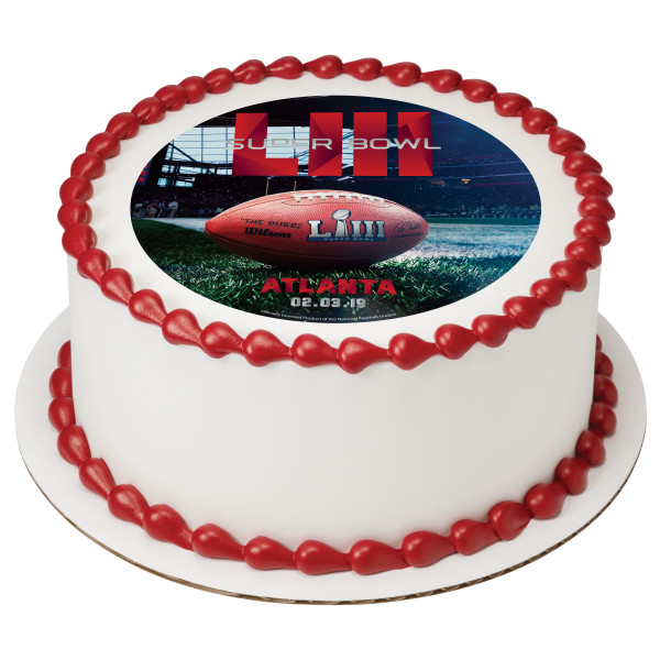 NFL Super Bowl LIII PhotoCake® Edible Image®