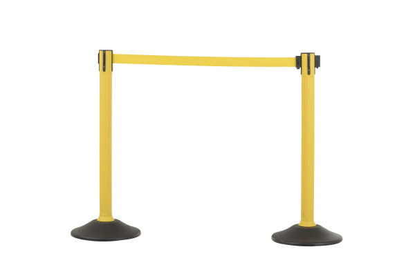 Sentry Stanchion - Yellow with Yellow belt 1