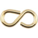 Hardware Essentials Brass 8-hooks