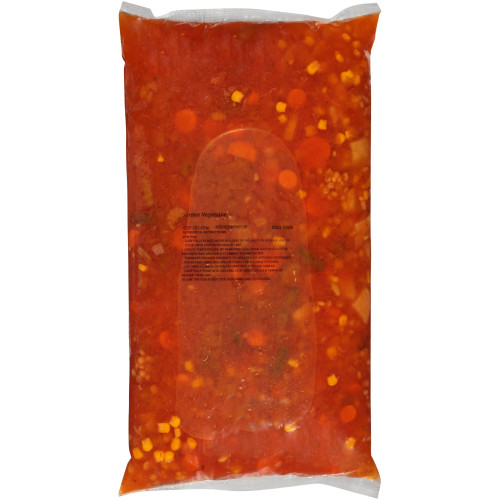 HEINZ CHEF FRANCISCO Garden Vegetable Soup, 8 lb. Bag (Pack of 4)